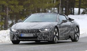H BMW δοκιμάζει το i8 Spyder