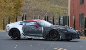 Spy Video Corvette ZR1 του 2018 (vid).