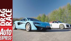 McLaren 570S Spider vs Audi R8 Spyder V10 Plus [Vid]