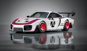 Porsche 935, αποτίοντας φόρο τιμής στη Moby Dick