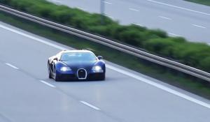 Bugatti Veyron έπιασε 402,5 χλμ/ώρα στην Autobahn [Vid]