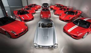 Στο σφυρί μια απίστευτη συλλογή από Ferrari