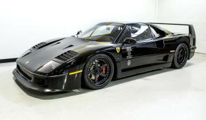 Στο σφυρί η διασημότερη μαύρη Ferrari F40