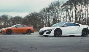 Honda NSX vs Nissan GT-R [Vid]
