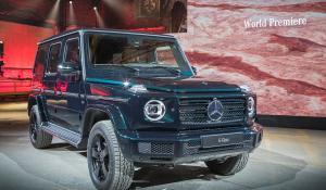 Επίσημο: Mercedes G-Class 2018