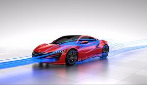 Ανακαλύπτοντας την αεροδυναμική του Honda NSX [Vid]