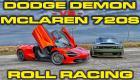 Η McLaren 720S τα βάζει με τον «Δαίμονα» [Vid]