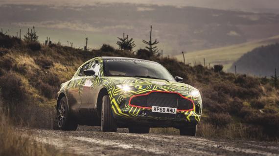 Ξεκίνησαν οι δοκιμές του Aston Martin DBX