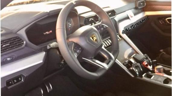 Αυτό είναι το εσωτερικό της νέας Lamborghini Urus
