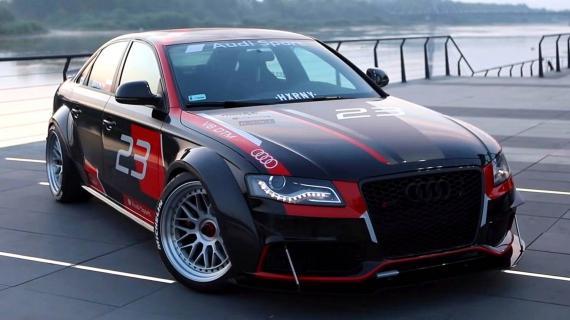 Από ταπεινό Audi A4 σε V8 quattro «Τέρας»!