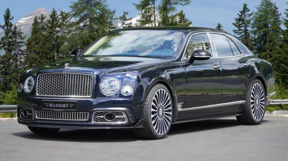 Η Mansory βελτιώνει την Bentley Mulsanne