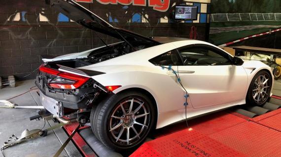 Το πρώτο βελτιωμένο νέο Honda NSX του κόσμου αποδίδει 650 άλογα